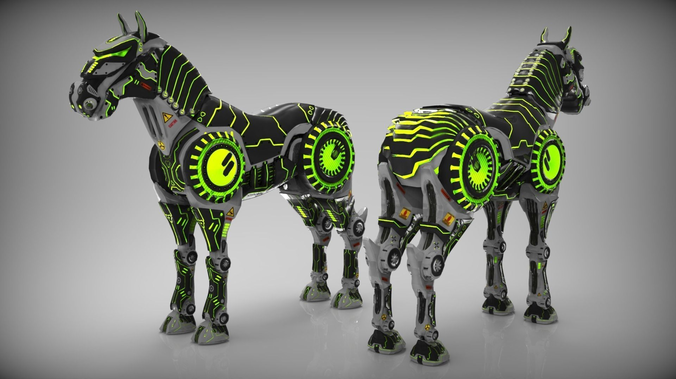 Best 3D Robot Concept Models Announced 6
