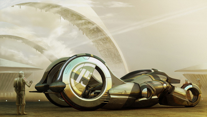 21 Amazing Concept Vehicles We Might Be Driving in 2050 23