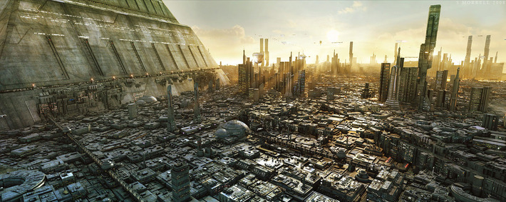 40 Mindblowing Sci-Fi 3D Renderings: The Universe In CGI 21