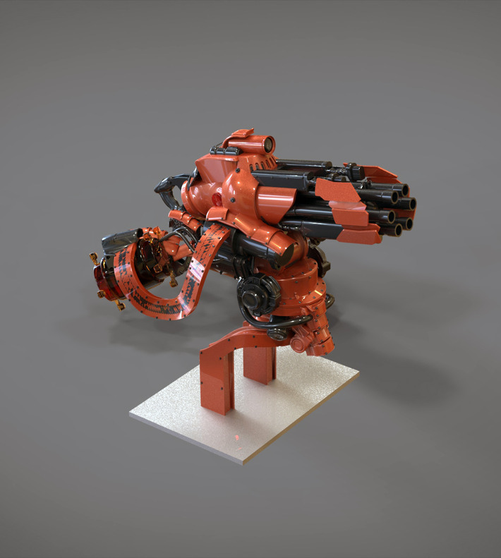 3D Sci-Fi Challenge: The Battle Is Over 5