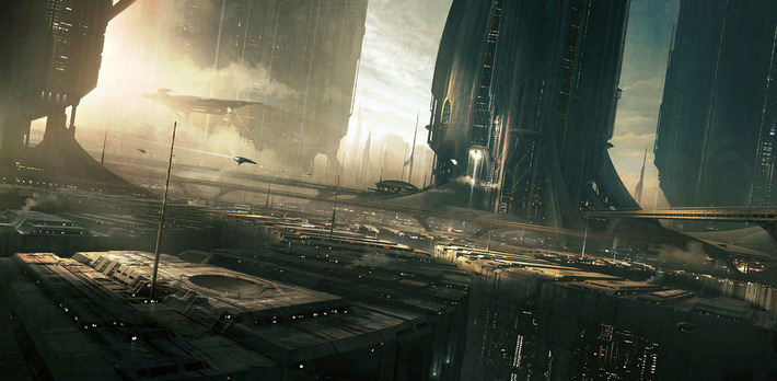 40 Mindblowing Sci-Fi 3D Renderings: The Universe In CGI 1