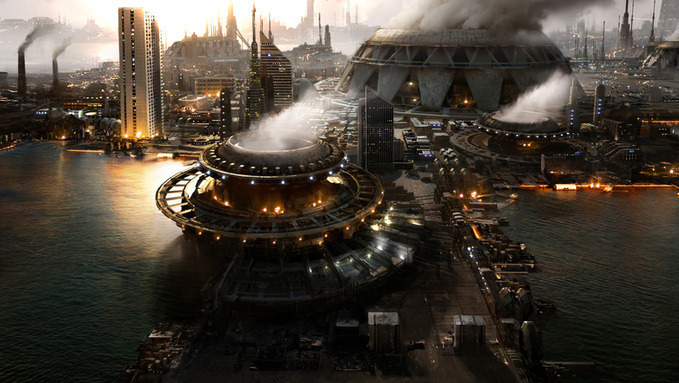 40 Mindblowing Sci-Fi 3D Renderings: The Universe In CGI 29