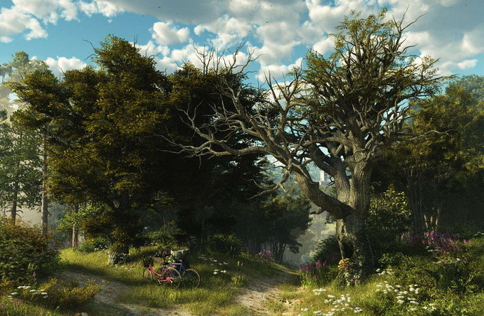 25 Photorealistic Landscape 3D Renderings: If Only Those Places Existed 39