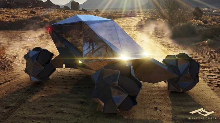 21 Amazing Concept Vehicles We Might Be Driving in 2050 1