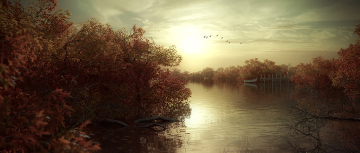 25 Photorealistic Landscape 3D Renderings: If Only Those Places Existed 24