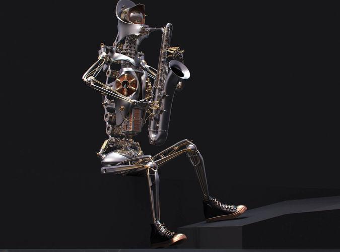 Best 3D Robot Concept Models Announced 11