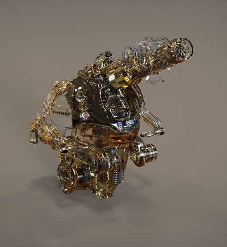 Best 3D Robot Concept Models Announced 9