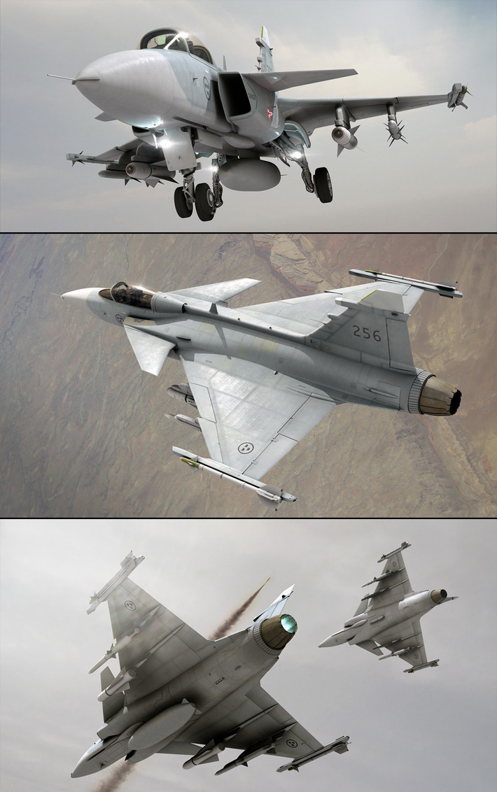 20 Photorealistic Aircraft Renderings: Take A Flight To Artificial Reality 12