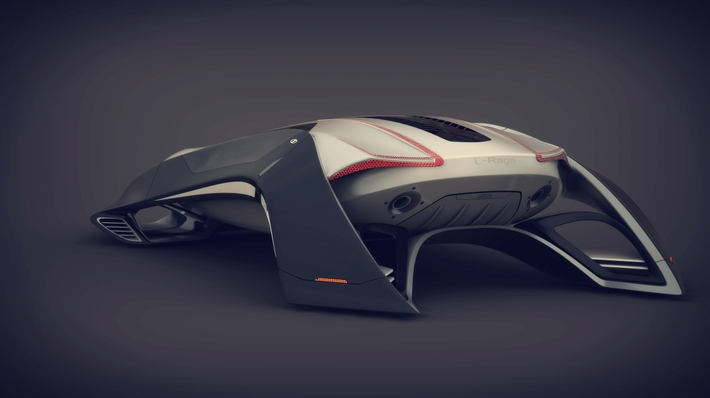 21 Amazing Concept Vehicles We Might Be Driving in 2050 26