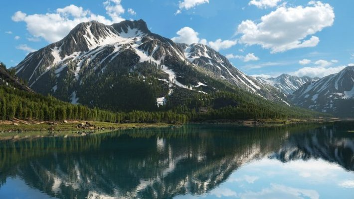 25 Photorealistic Landscape 3D Renderings: If Only Those Places Existed 10