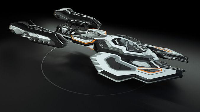 Monster Porsche Hurricane Concept Design: Best 3D Sci-Fi Models Announced - Blog