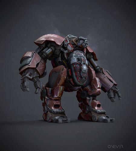 Best 3D Robot Concept Models Announced 1