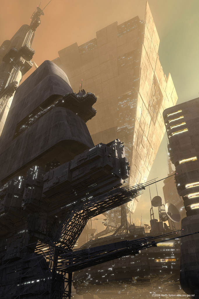 40 Mindblowing Sci-Fi 3D Renderings: The Universe In CGI 17