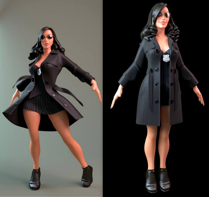 French Designer Shows the Sexy Side of 3D 3