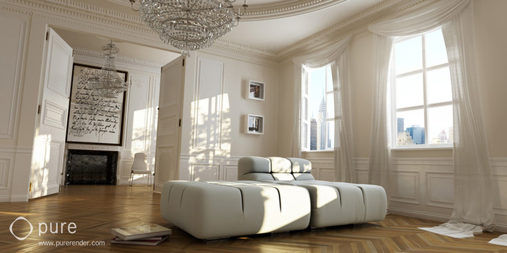 Architectural 3D Renderings That Look Too Real To Be True 22