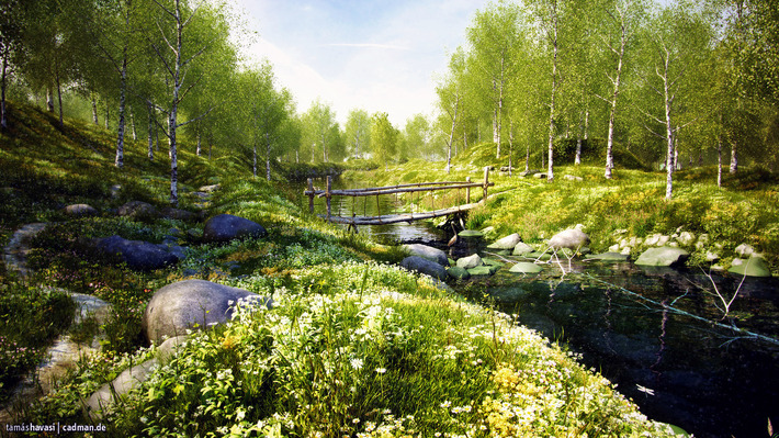 25 Photorealistic Landscape 3D Renderings: If Only Those Places Existed 32