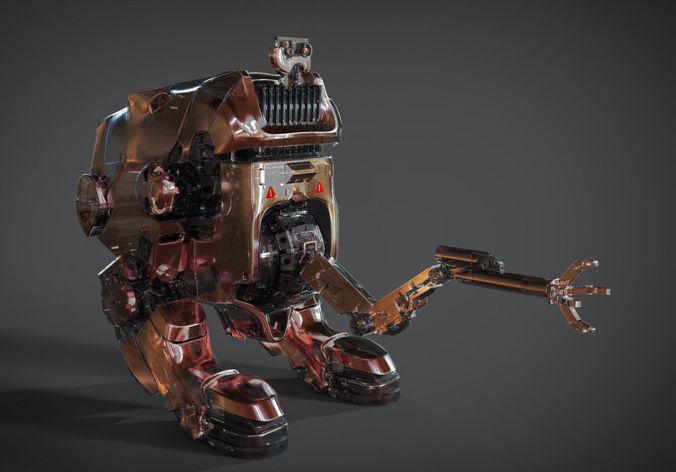 Best 3D Robot Concept Models Announced 8