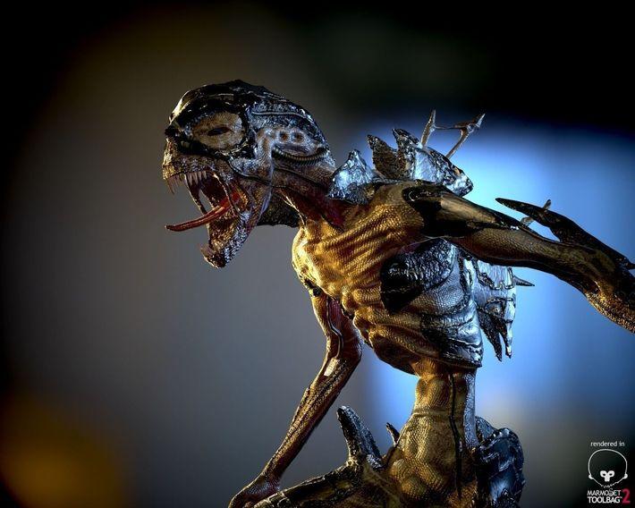 CG Aliens Challenge Winners Announced  7