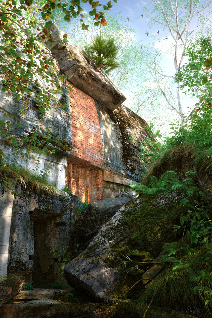 25 Photorealistic Landscape 3D Renderings: If Only Those Places Existed 21