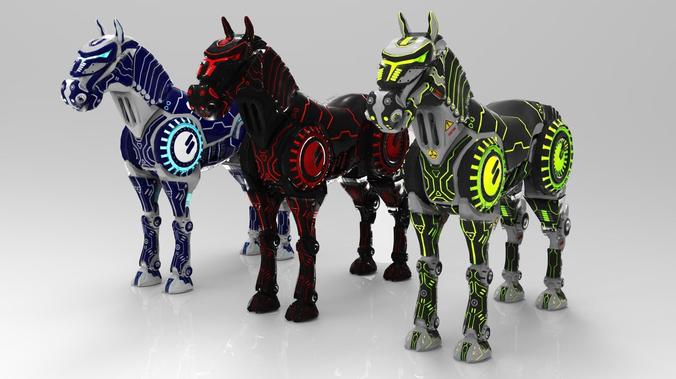 Best 3D Robot Concept Models Announced 5