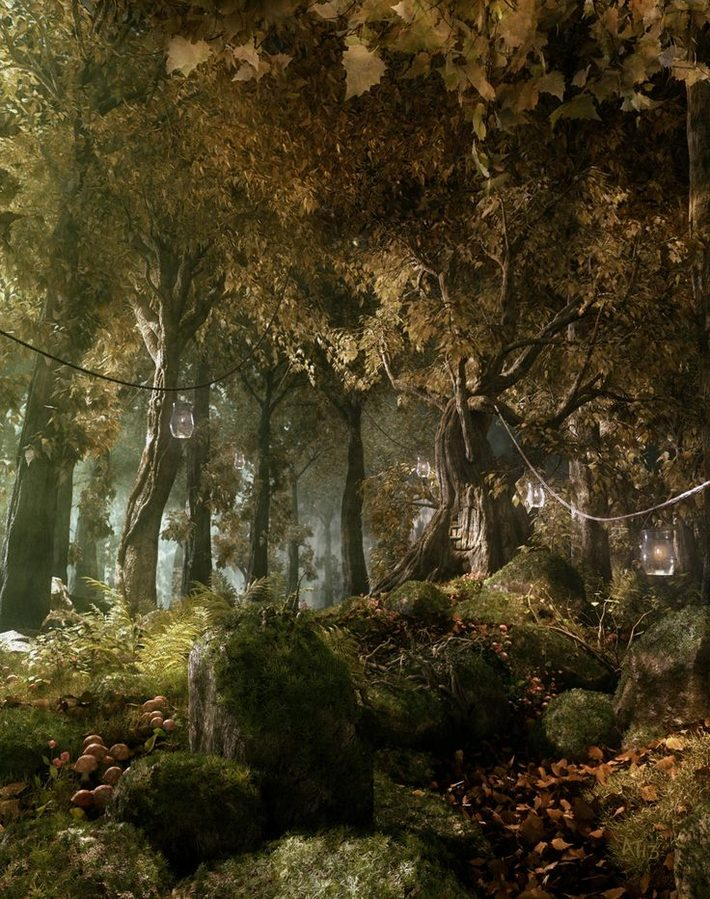 25 Photorealistic Landscape 3D Renderings: If Only Those Places Existed 8