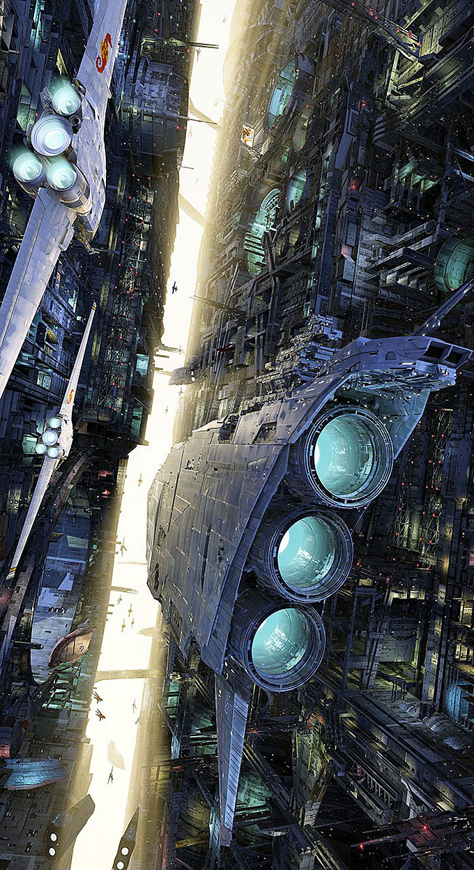 40 Mindblowing Sci-Fi 3D Renderings: The Universe In CGI 25