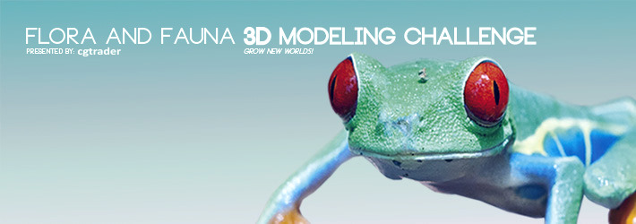3D Flora & Fauna Modeling Challenge: Grow New Worlds!
