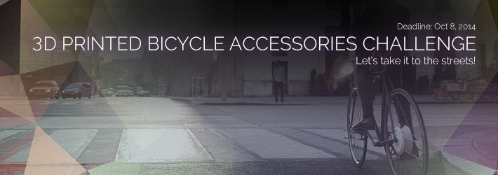 3D Printed Bicycle Accessories Challenge: Let's take it to the streets!