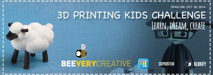 3D Printing Kids Challenge: Learn, Dream, Create!