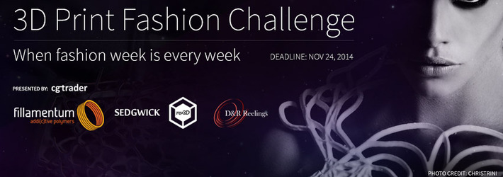3D Print Fashion Challenge: When Fashion Week is Every Week