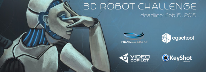 CG Robots Challenge: Show us who runs your imagination!