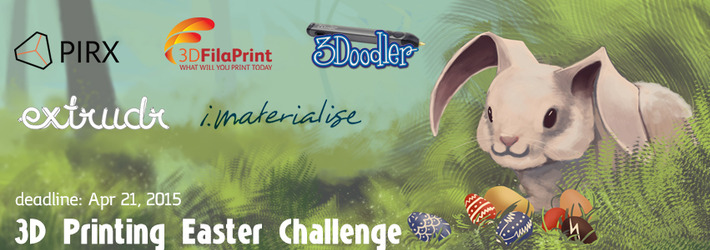 Easter 3D Printing Challenge: Let's 3D print the old festival a new face!