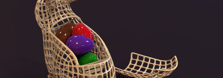 Easter 3D Printing Challenge Winners Announced!