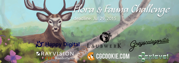 CG Flora and Fauna Challenge: Redesign the Nature!