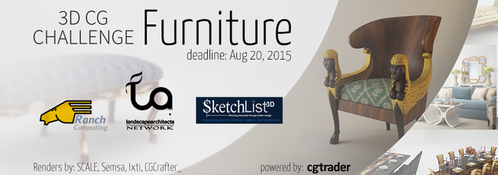 CG Furniture Challenge: Don't lay in bed, design one instead!