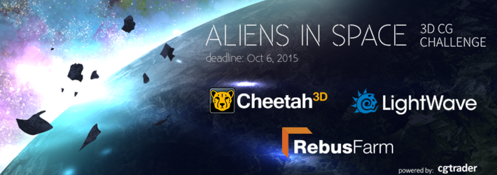 CG Aliens in Space Challenge: Let's Inject Some 3D Fantasies into This Alien Story
