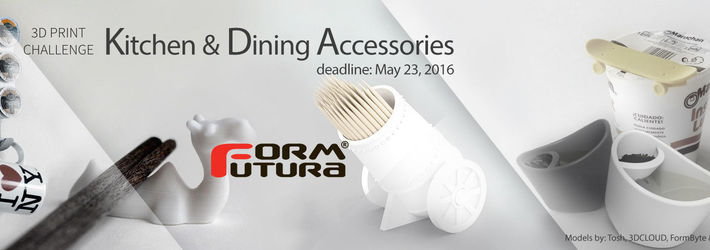 Cook Up Something Great For 3D Printed Kitchen Accessories Challenge