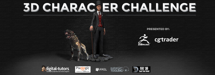 3D Character Challenge: What Will You Come Up With?