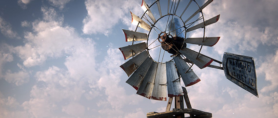 3D model Windmill Lost Highway Gustavo Groppo