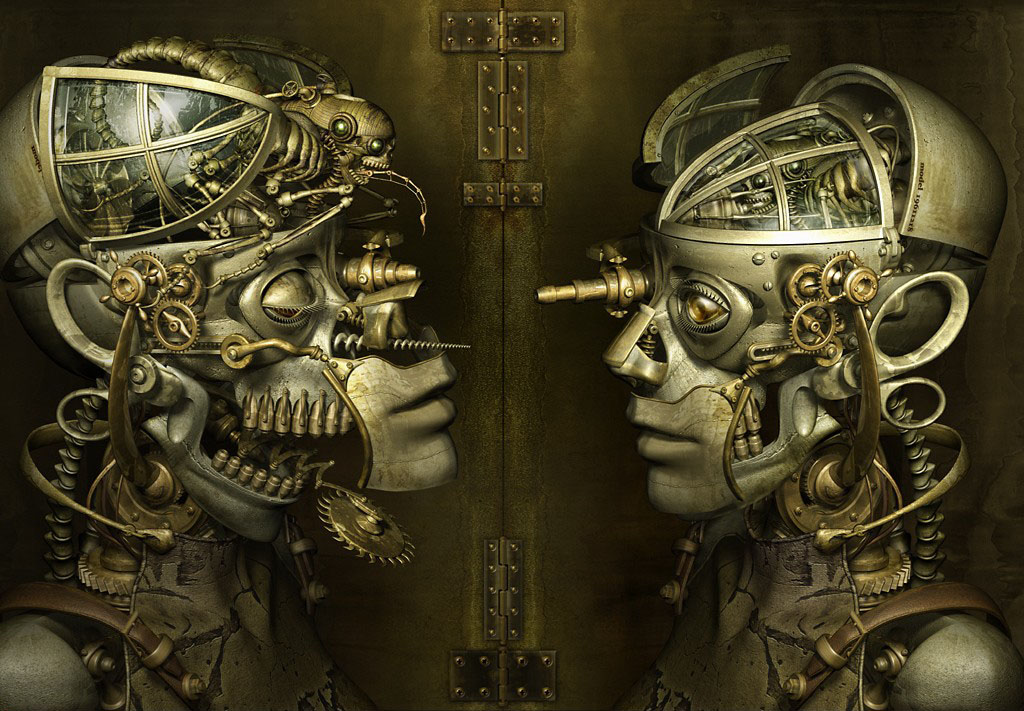 Steampunk Art In 3D Modeling - Blog | CGTrader