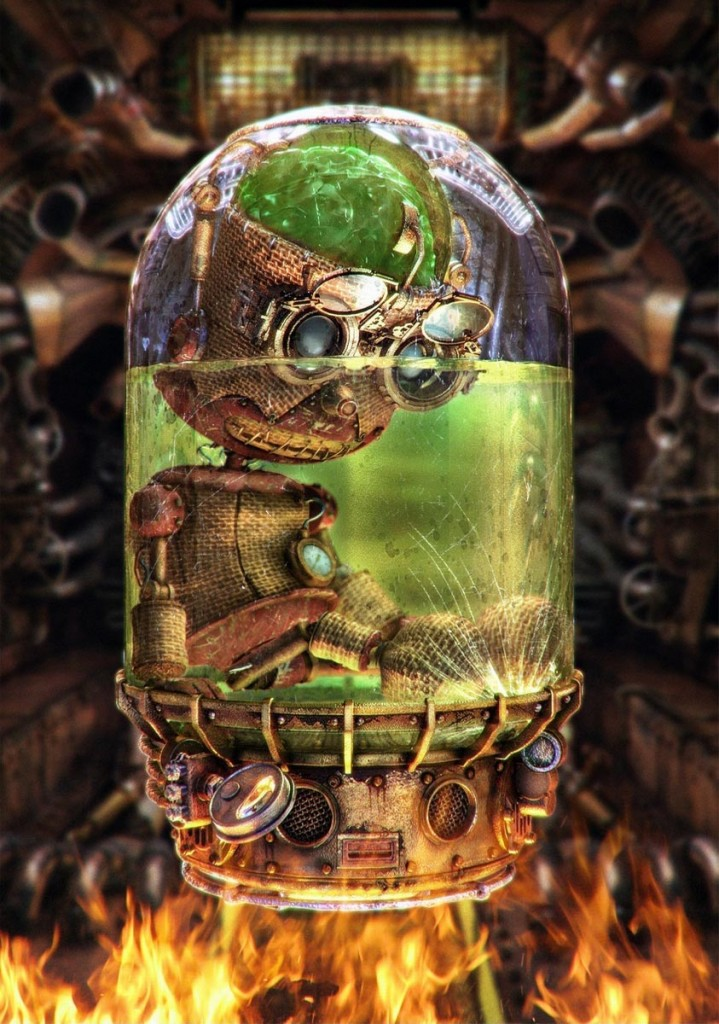 Steampunk Art In 3d Modeling Blog Cgtrader