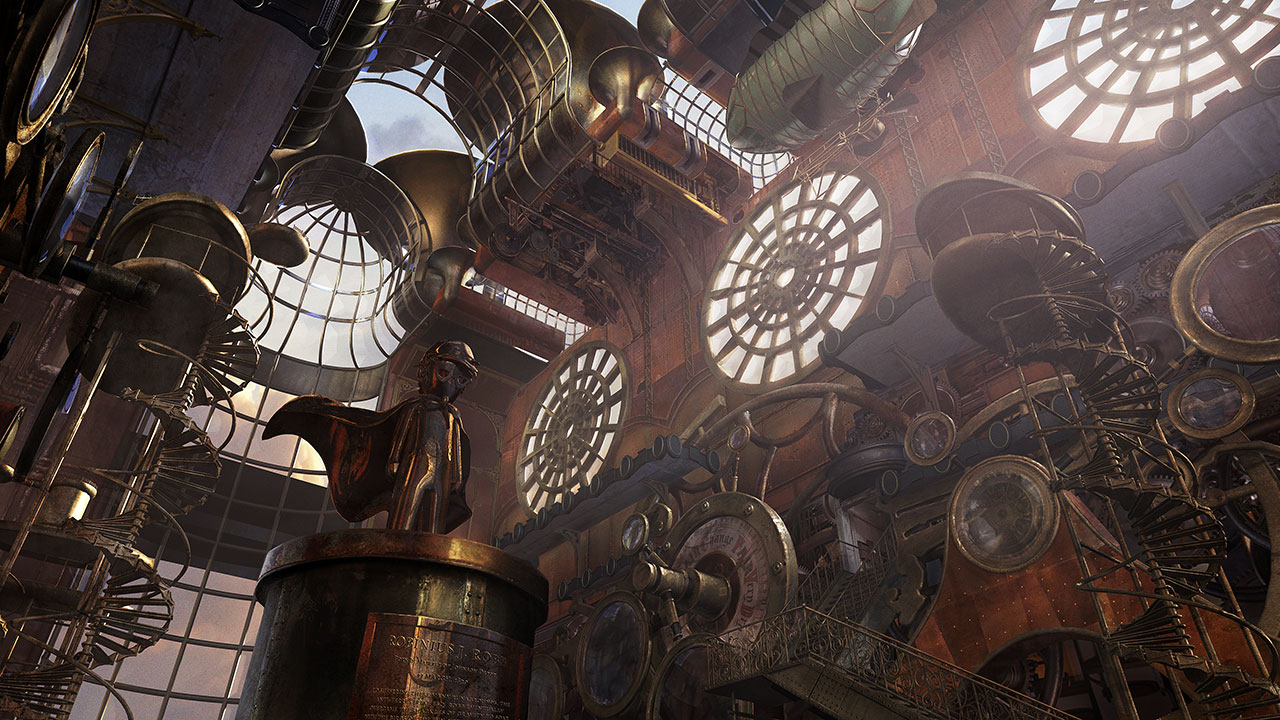 Steampunk art in 3d modeling blog cgtrader for What is steampunk design