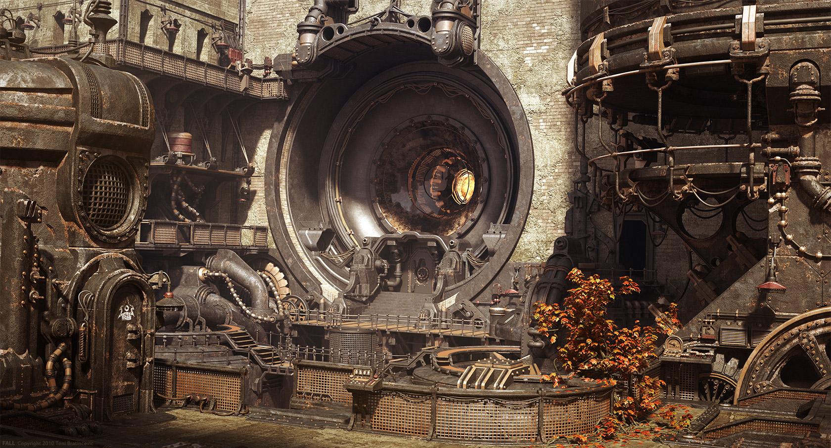 Steampunk Art In 3D Modeling - Blog   CGTrader
