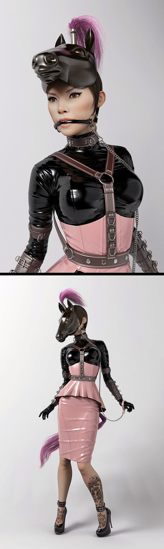 Women As Inspiration for 3D Art 18
