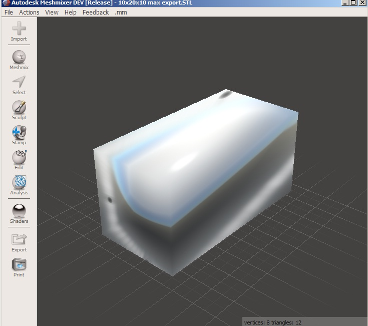 how to solve scale different problem in 3d printing STL