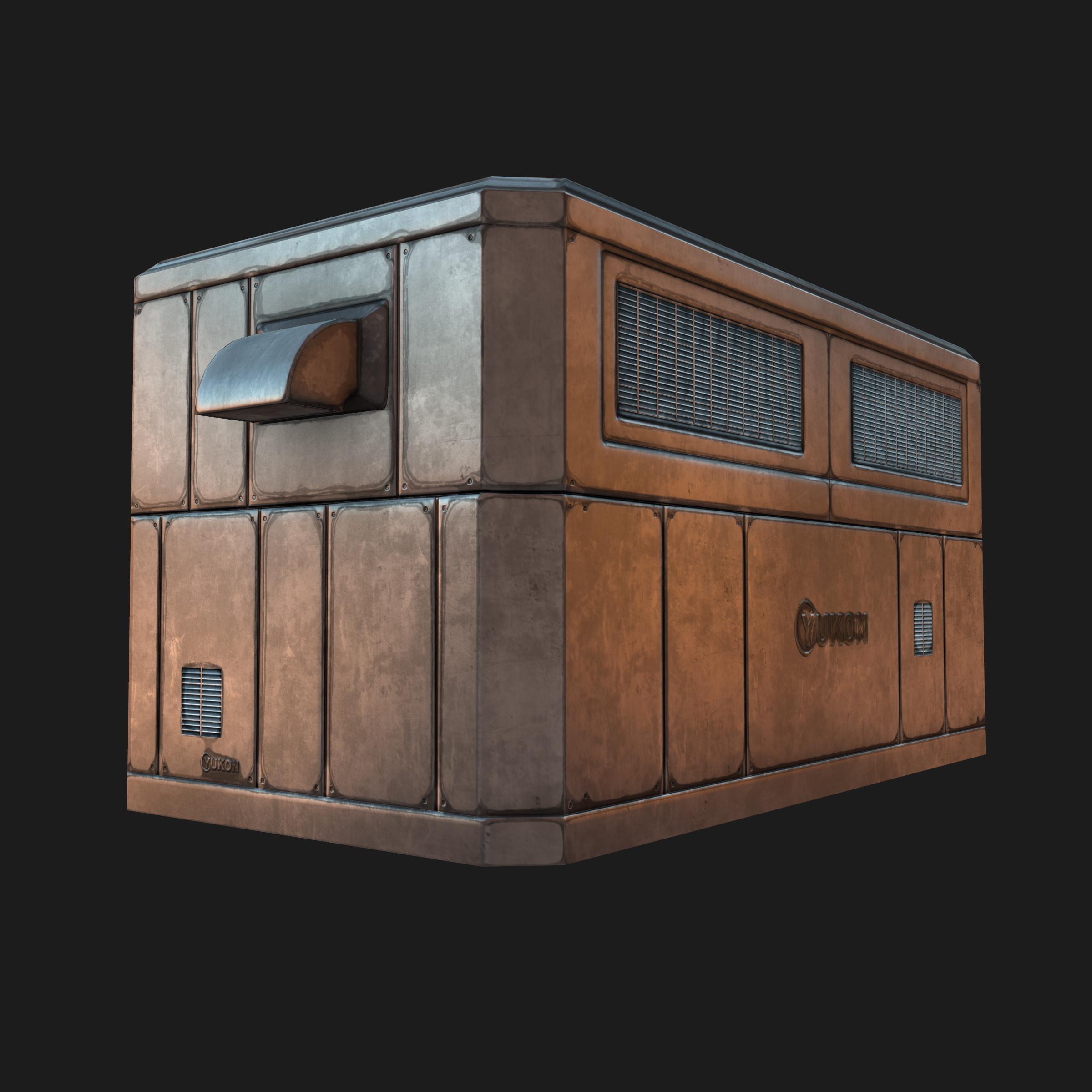 Marvelous Rooftop AC Unit
