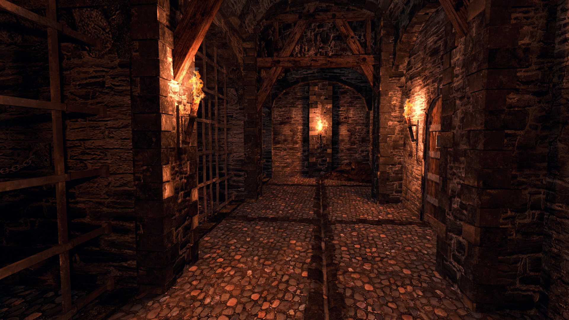 Medieval Dungeon Cgtrader